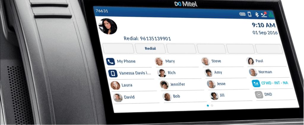 mitel-6900-display