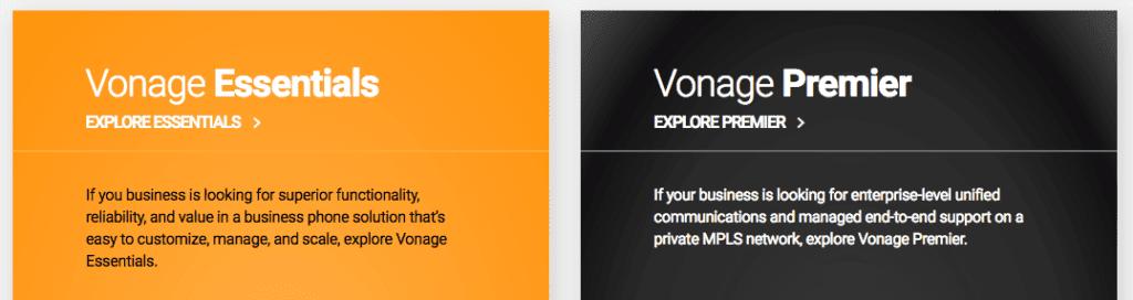 Vonage Plans