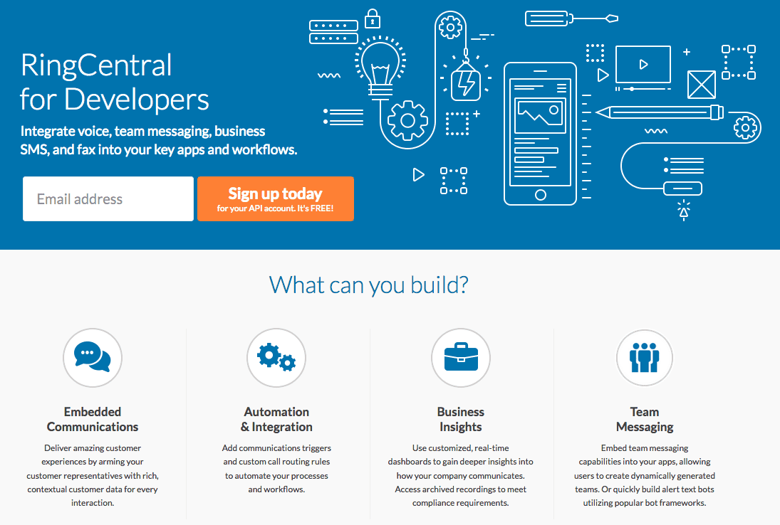 RingCentral For Developers