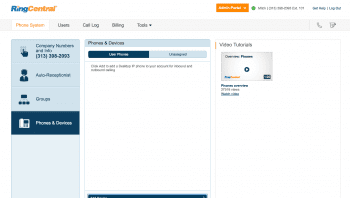 Mitchell M.'s review forRingCentral