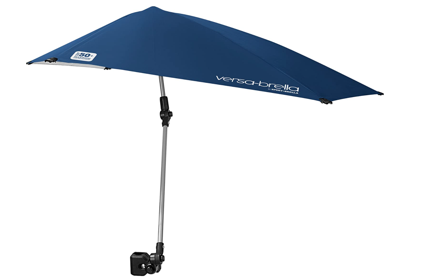 Adjustable Umbrella with Universal Clamp
