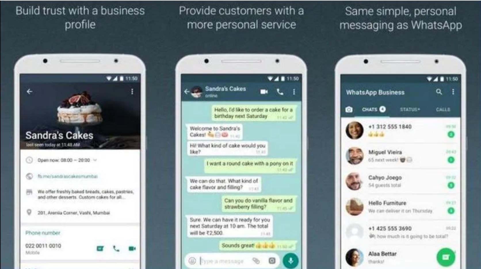 WhatsApp Business UI