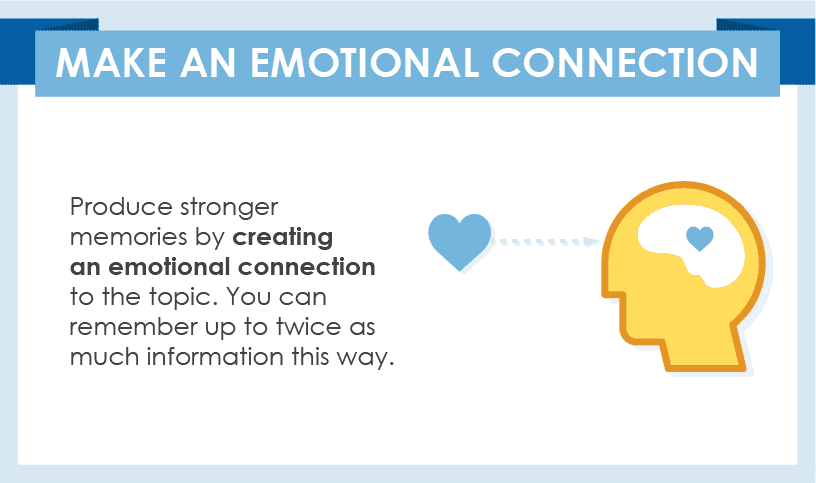 Make An Emotional Connection