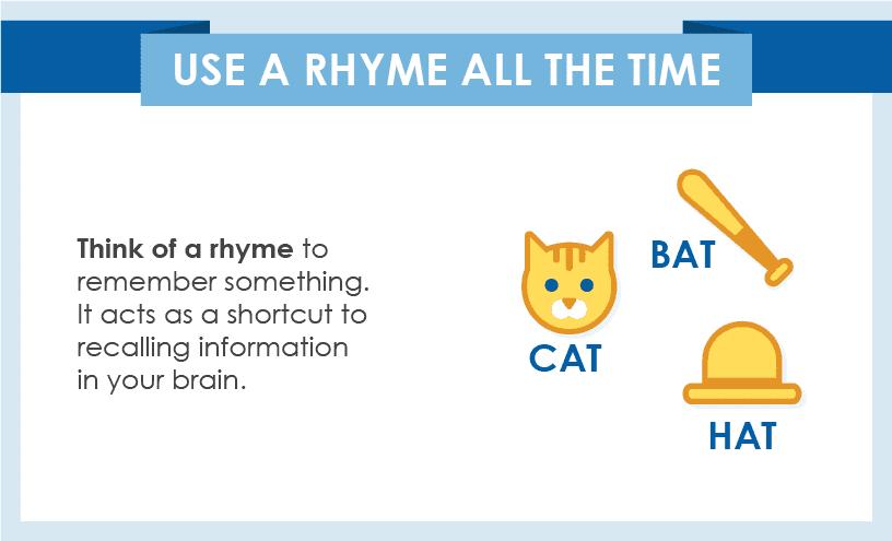 Use Rhyme