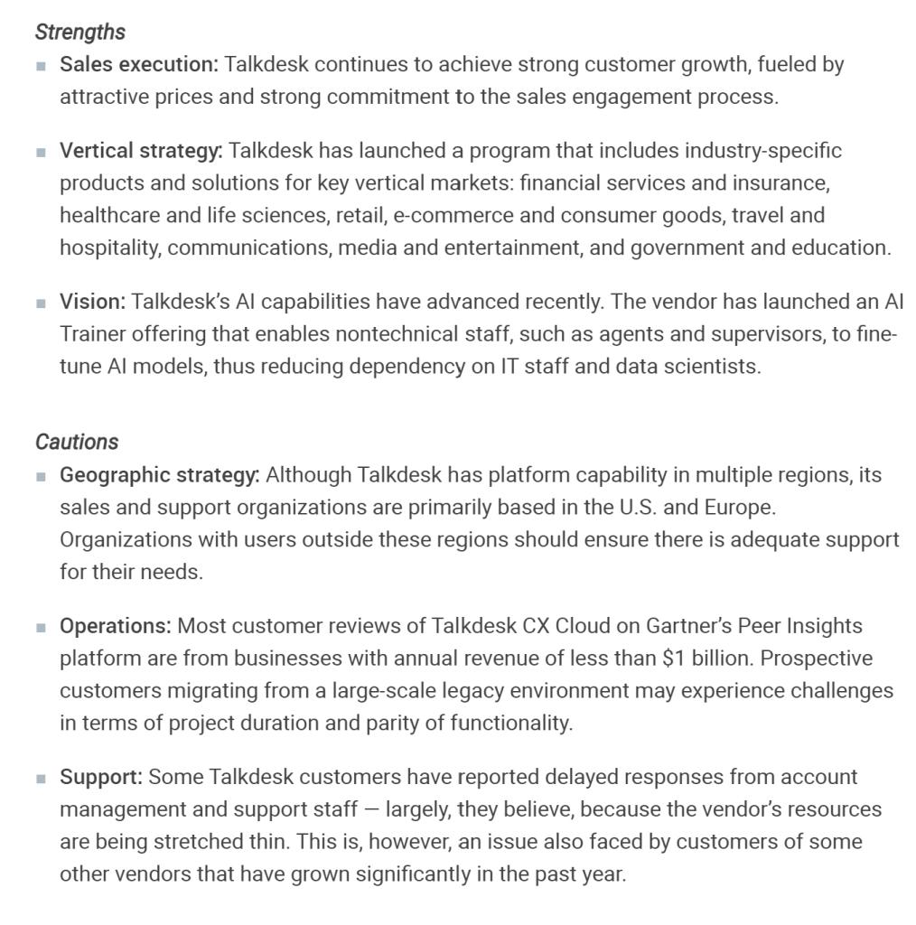 Talkdesk UCaaS Magic Quadrant 2021 GetVoIP News