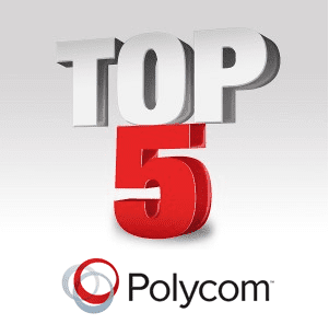 Top 5 Polycom Events in 2012