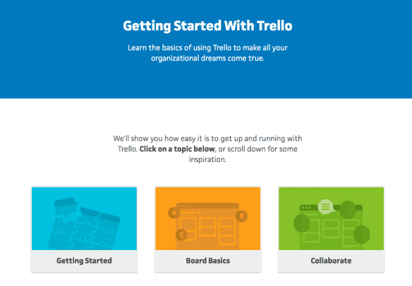 Trello Getting Started