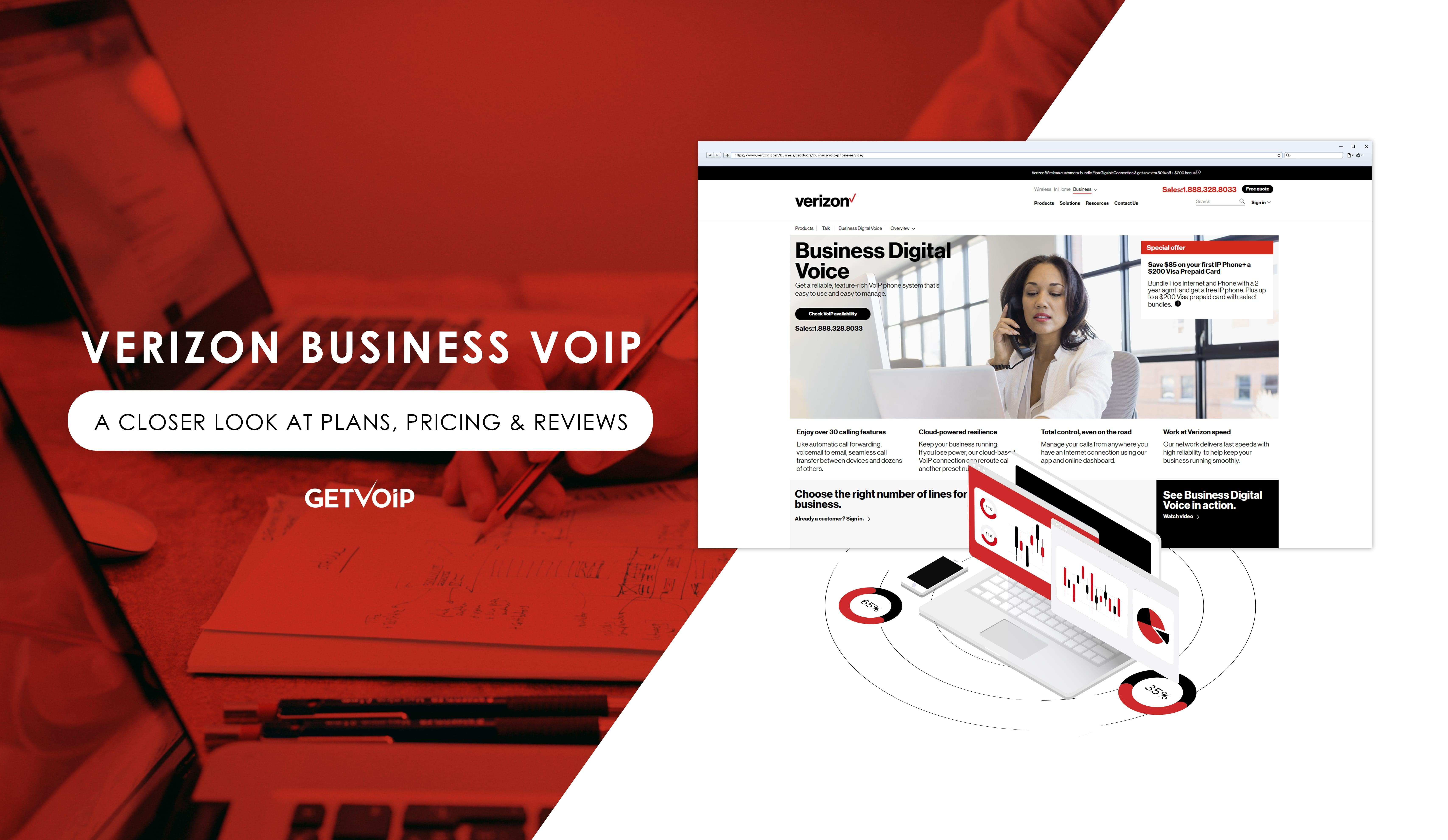 Verizon Business VoIP: A Closer Look at Plans, Pricing & Reviews