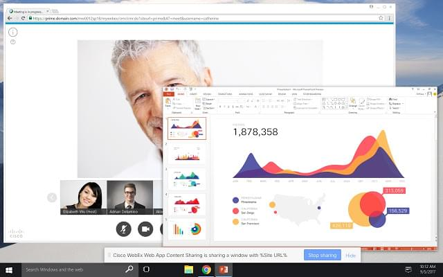Webex Screen Sharing