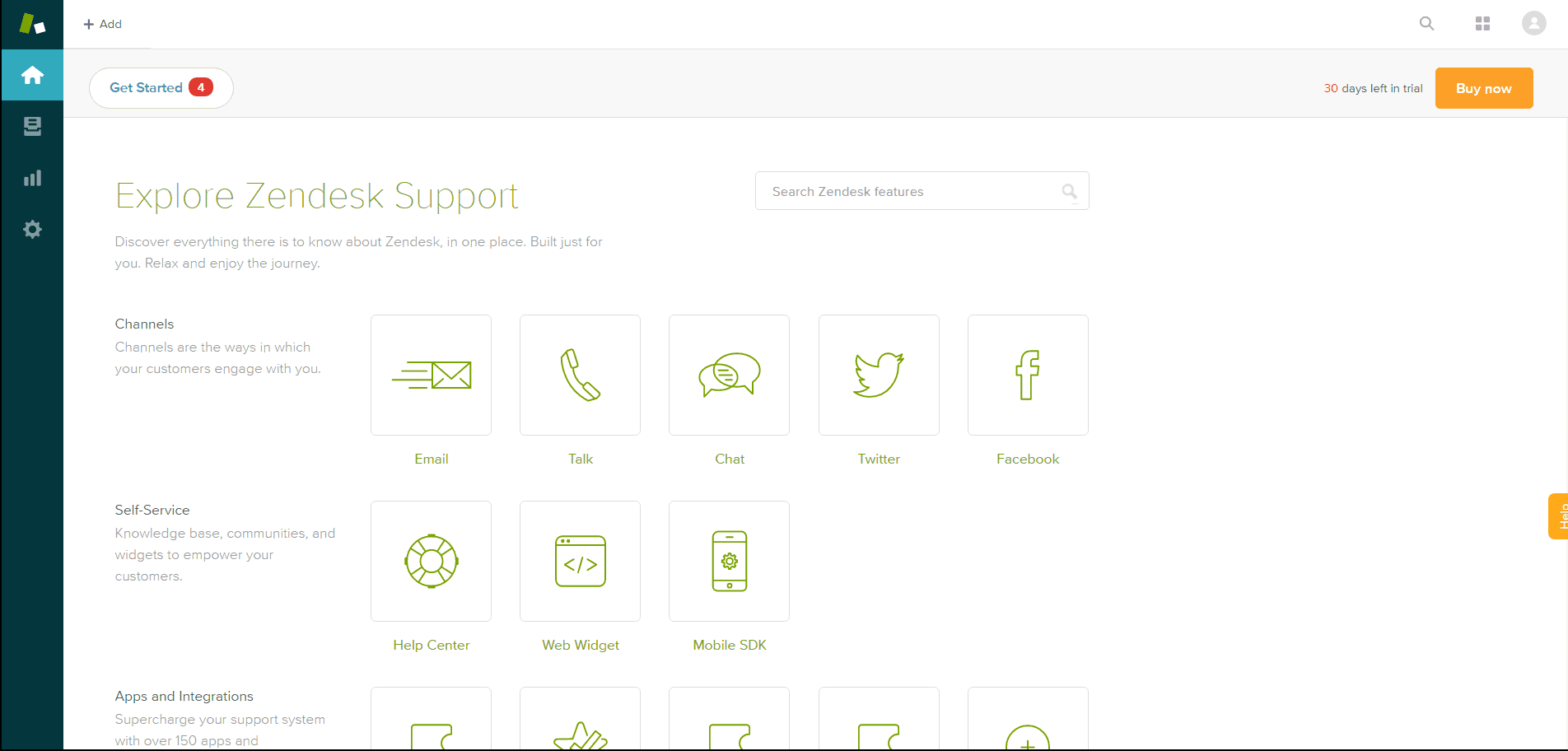 Explore Zendesk Support