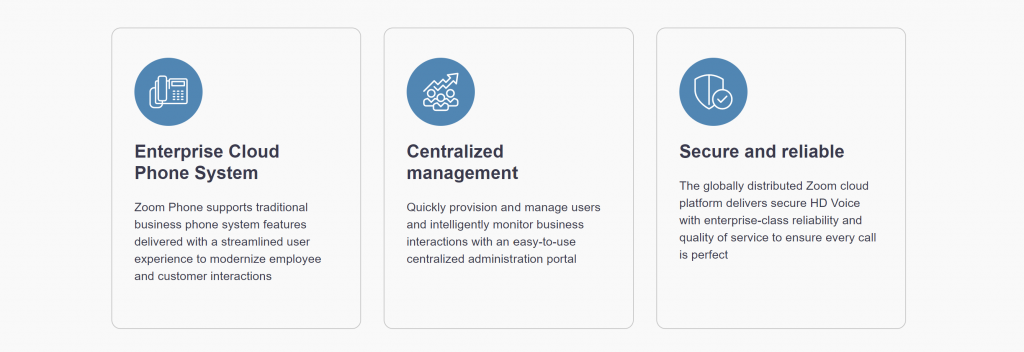 Zoom for Government GetVoIP News Centralized Management
