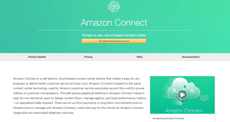 A New Challenger Appears: Hands on With Amazon Connect