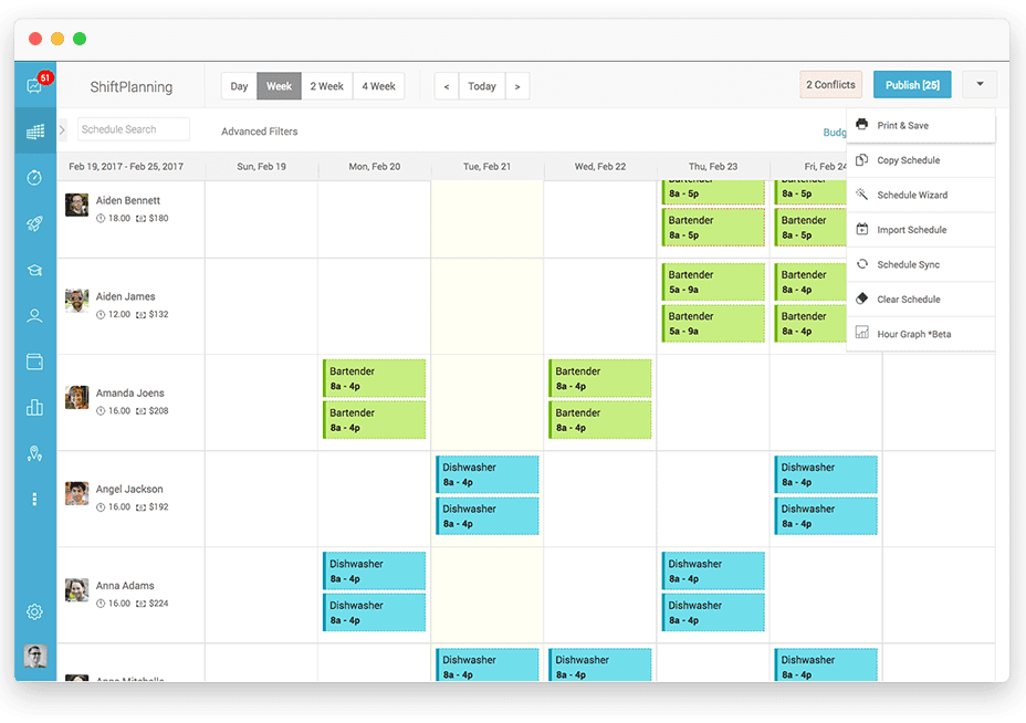 Call Center Automation Scheduling