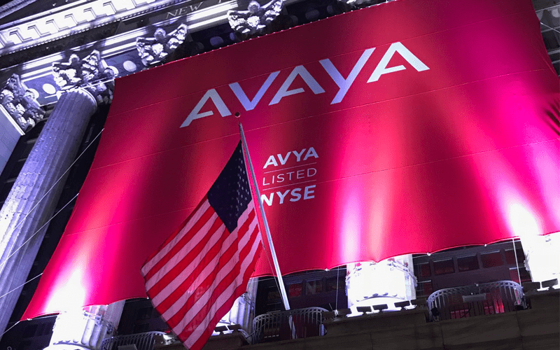 Avaya Rings the Opening Bell, Is Now Publicly Listed on the NYSE
