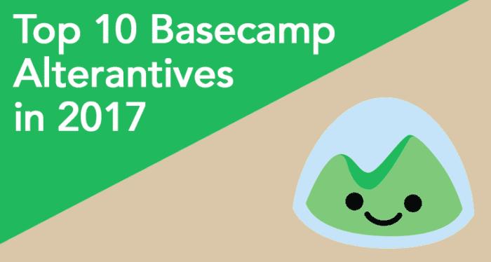 Top 10 Basecamp Alternatives For Project Management