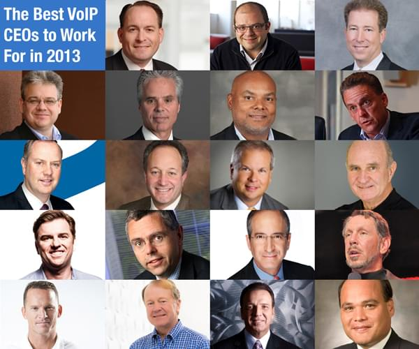 The Best VoIP CEOs To Work For In 2013