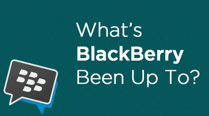 What's BlackBerry Been Up To? Well, Enterprise UC, of Course