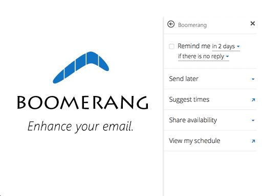 Boomerang Email