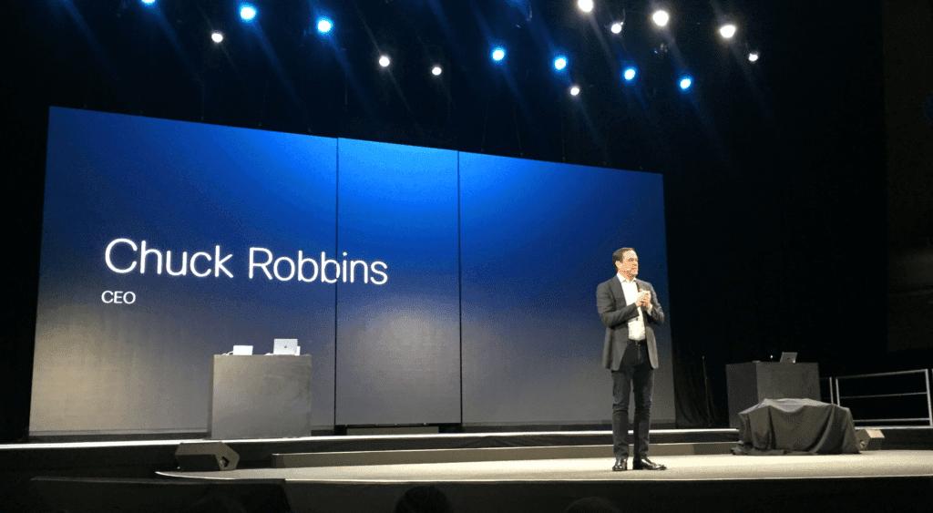 Chuck Robbins CEO of Cisco