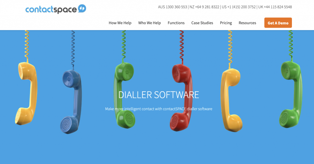 contactSPACE Auto Dialer