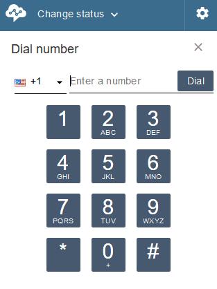 Dial Number Screenshot