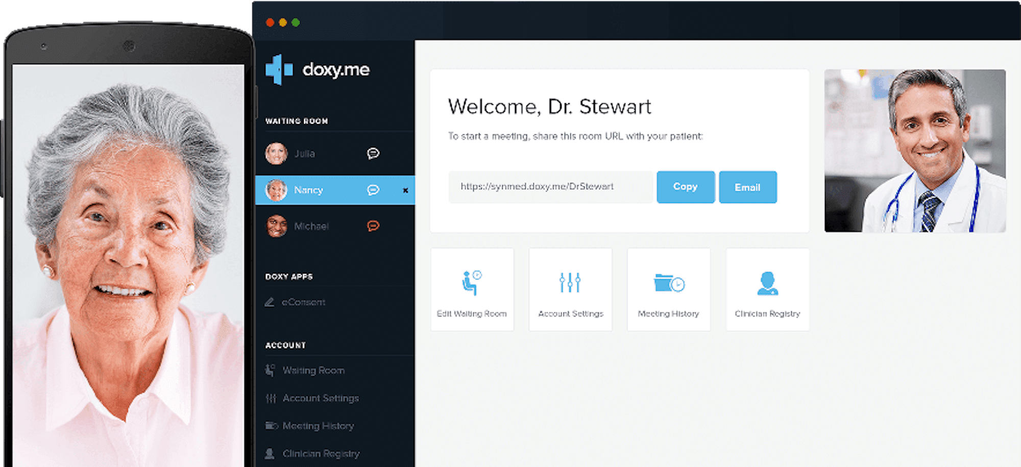 doxyme interface