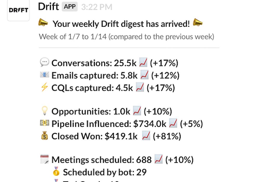 Drift app