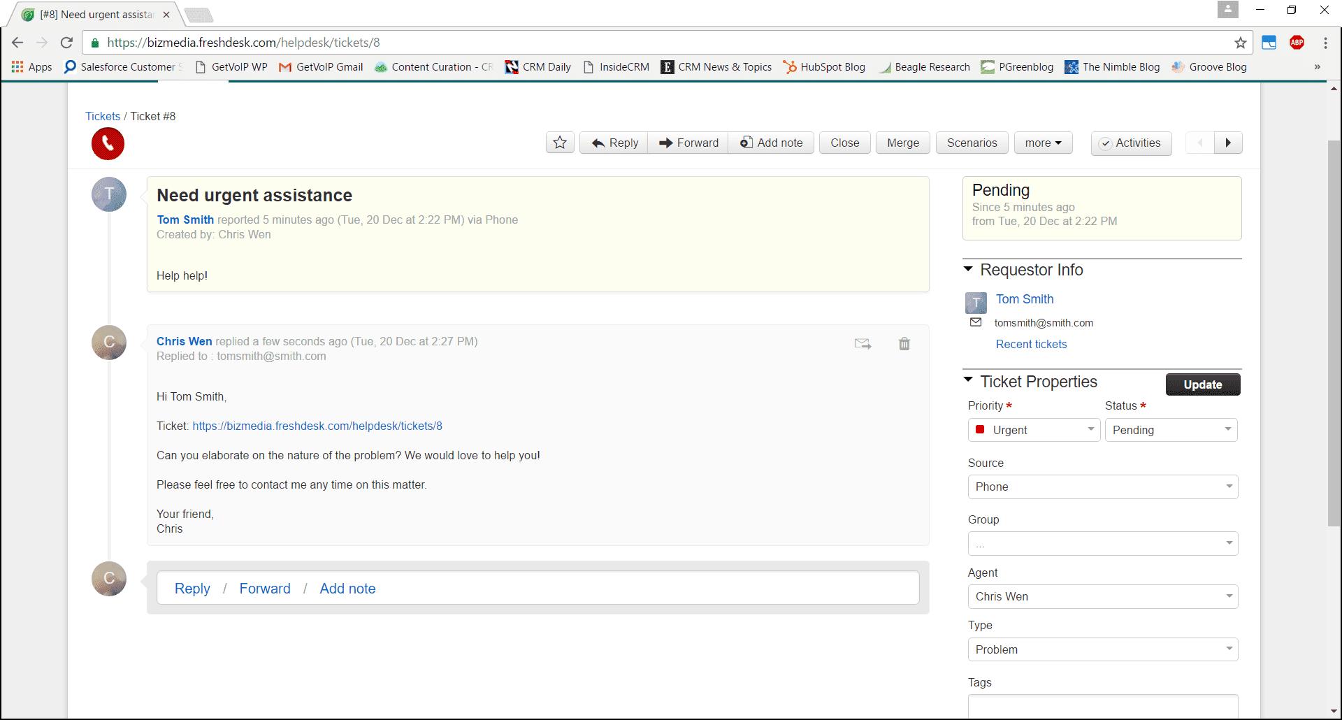 Freshdesk Support