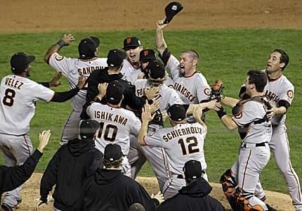 San Francisco Giants - 2012 World Series Champions