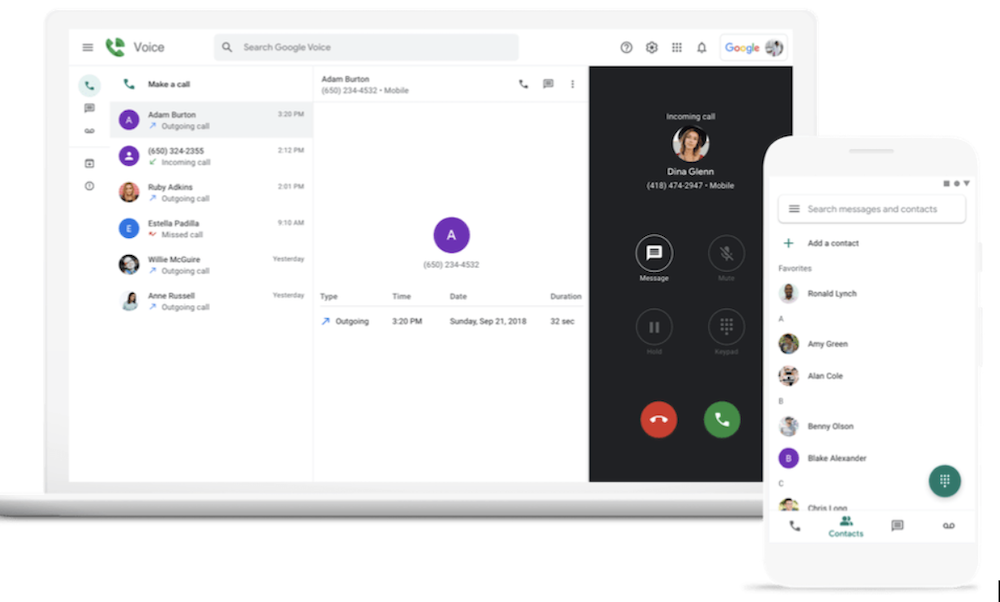 Google Voice Calling