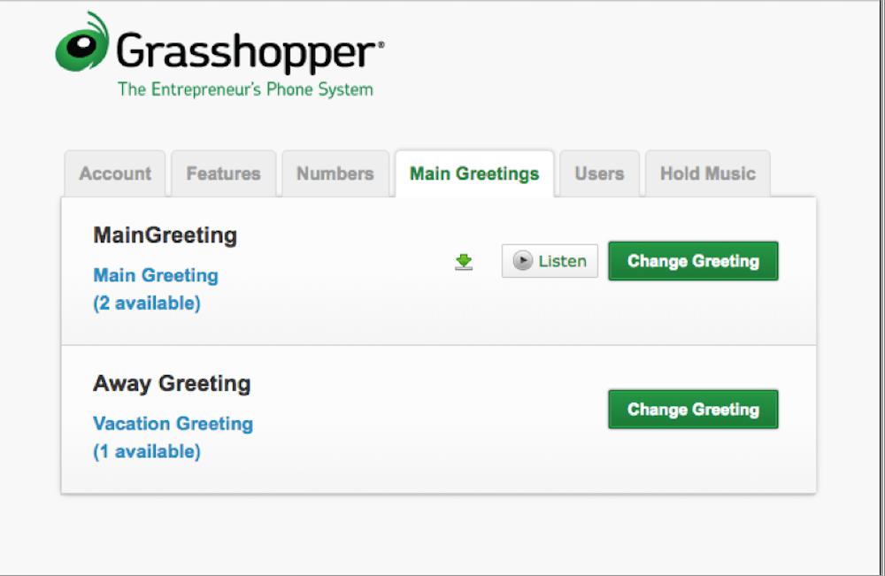 Grasshopper Greetings