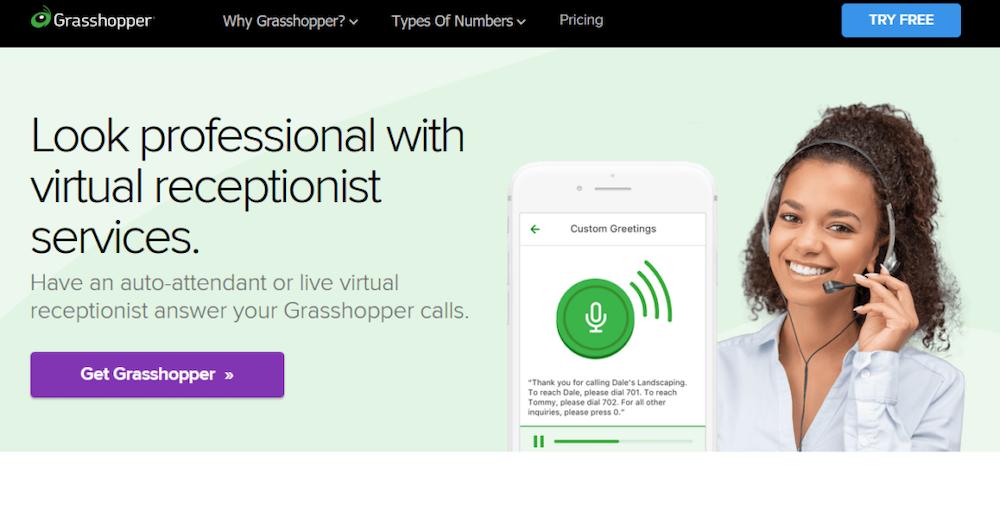 Grasshopper Receptionist