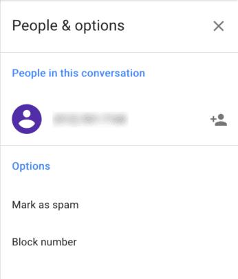 Google Voice Screenshot