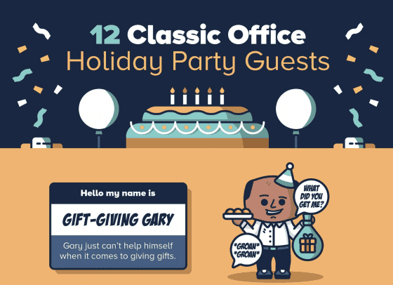 12 Classic Office Holiday Party Guests