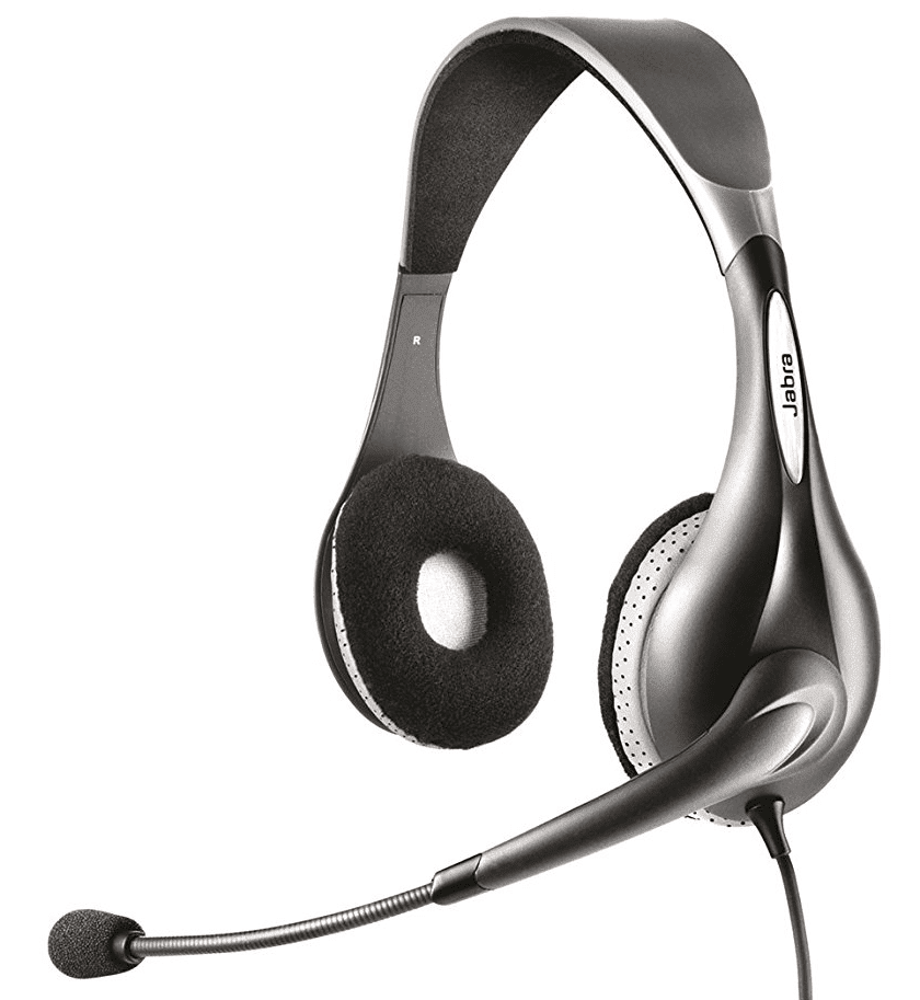 5303ec5cb7b As one of Jabra's most cost-effective headsets, the UC Voice 150 brings a  lot for such a small package. The noise-cancelling microphone and stereo  output ...