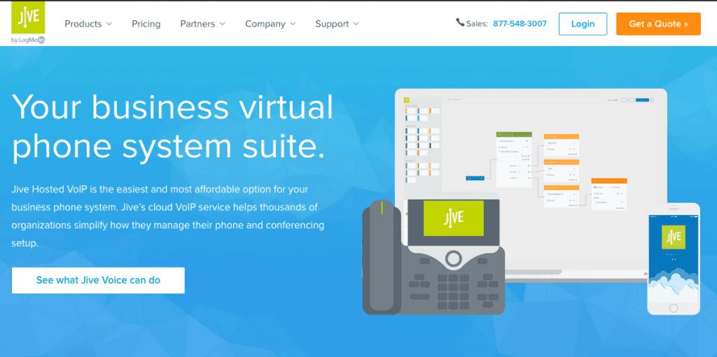 jive communications business phone plans