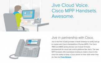 Jive and Cisco: Smart Desk Phones for a Smart Cloud Platform