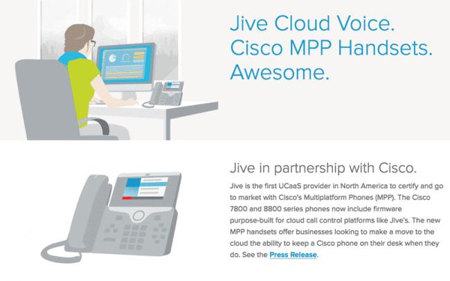 Jive and Cisco: Smart Desk Phones for a Smart Cloud Platform