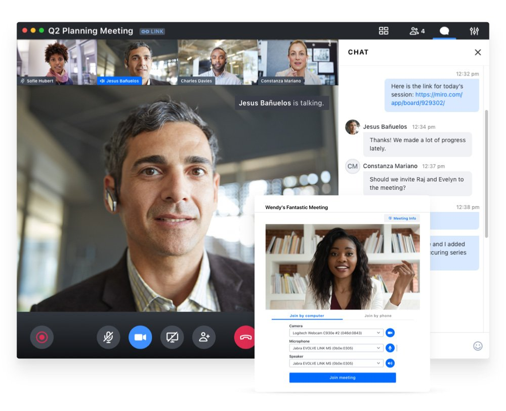 Join.me web conferencing app