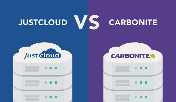 JustCloud vs Carbonite: Which is Better for Your Business?
