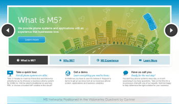 M5 Networks at First Glimpse