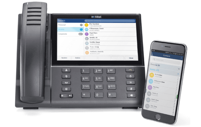 Mitel Announces New Smartphone Integrated IP Desk Phones