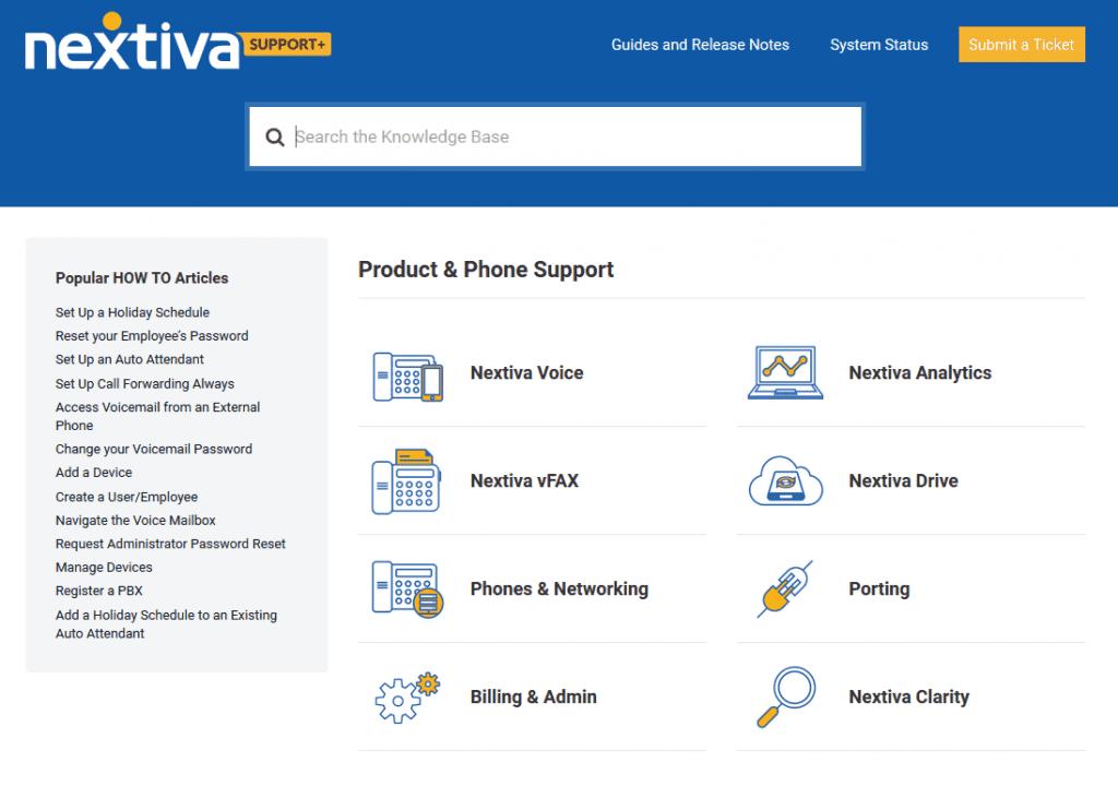 Nextiva Support