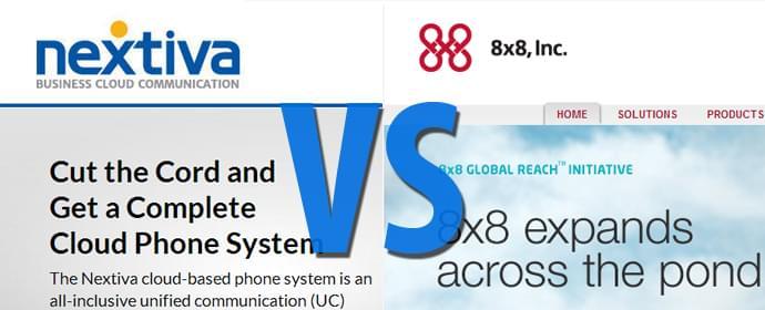 Nextiva vs 8×8 Head to Head Comparison