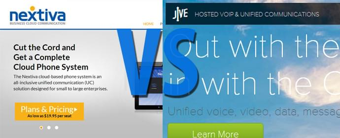 Nextiva vs Jive Communications Comparison