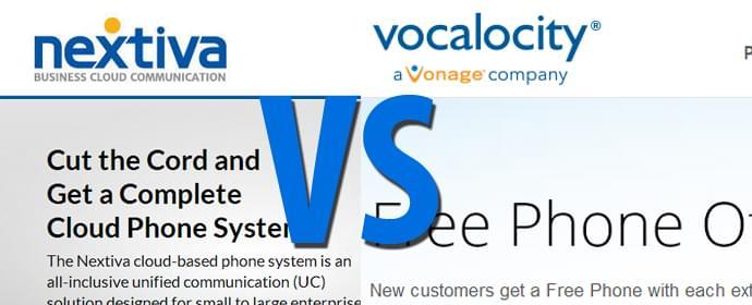 Vocalocity vs Nextiva Head To Head Comparison