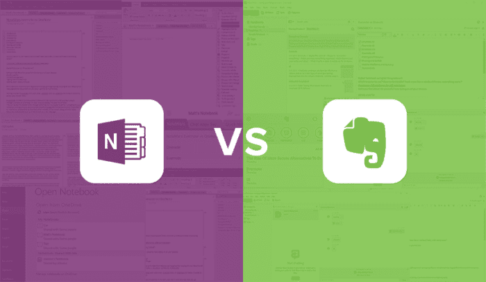 One Note vs Evernote