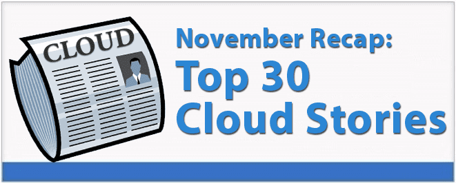 November's 30 Best Cloud Computing Stories