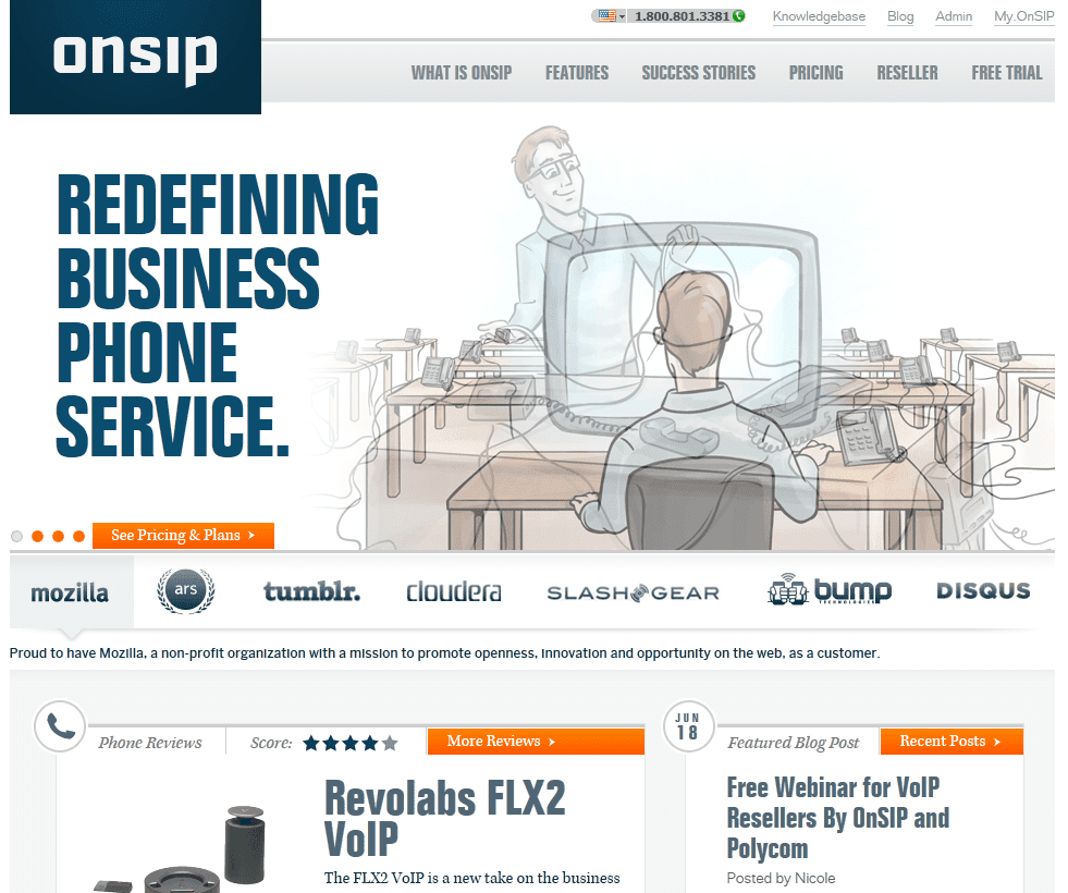 OnSIP – Business VoIP Provider – First Impression