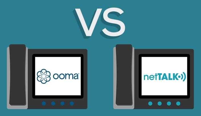 Ooma Premier vs netTALK Comparison